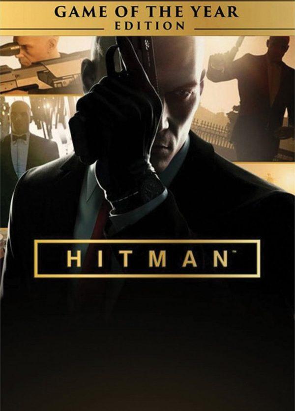 Обложка на игра за компютър - Hitman от 2016 година